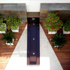 حديقة Zen تنفيذ NATALIA MENACHE ARQUITECTURA, تبسيطي