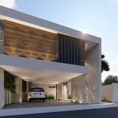 Casa Jasso: Casas unifamiliares de estilo  por Basal Arquitectos