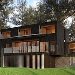 Residential Projects:  Single family home by Kenchiku 2600
