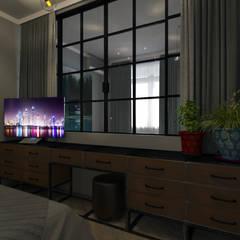 2-комнатная квартира в ЖК Облака г.Энгельс: Маленькие спальни в . Автор – Molyako Design,
