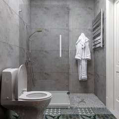 2-комнатная квартира в ЖК Облака г.Энгельс: Ванные комнаты в . Автор – Molyako Design, Модерн