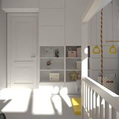 3-к квартира, 5-я Дачная, г.Саратов: Спальни для мальчиков в . Автор – Molyako Design, Модерн