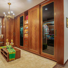 Dressing room by Mr. Blueprint, Tropical Wood Wood effect
