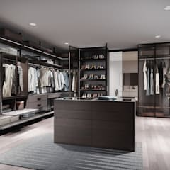 Dressing room by Raumplus Russia,