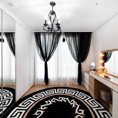 30평 아파트 홈스타일: 제이미홈스타일링의  드레스 룸,모던
