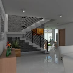 Stairs by REA + m3 Taller de Arquitectura, Modern
