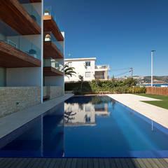 Hotel Margarita: Villas de estilo  por Grupo Viesa