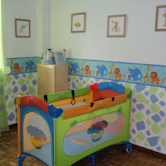 Baby room by Feng Shui del Ser Humano, Minimalist