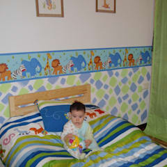 Baby room by Feng Shui del Ser Humano, Rustic