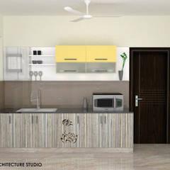 Kitchen units by Olive Architecture Studio, Minimalist Plywood
