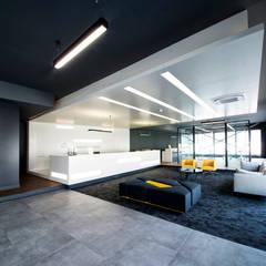 INPARC İç Mimari Proje Uygulama – ERTUNÇ ÖZCAN FABRİKA:  tarz Ofis Alanları,