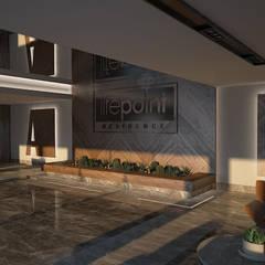 INPARC İç Mimari Proje Uygulama – LIFEPOINT RESIDENCE:  tarz Oturma Odası,