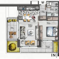 INPARC İç Mimari Proje Uygulama – BENEVRE BEYTEPE:  tarz Apartman,