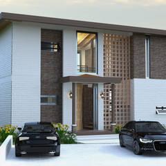 CASA DE CAMPO MYO: Casas de estilo  por D´  DOZE ARQUITECTURA Y DISEÑO, Colonial