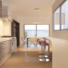 Remodelación Cocina: Cocinas pequeñas de estilo  por PLARIST