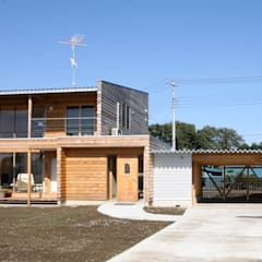 Cedar  Box: 株式会社高野設計工房が手掛けた木造住宅です。,北欧 木 木目調