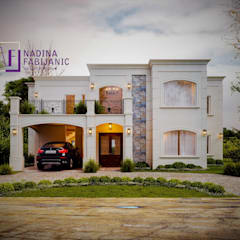 Casa Julia Casas clásicas de NF Arquitectura Clásico Hormigón