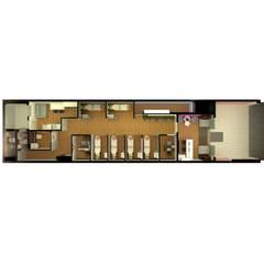 عيادات طبية تنفيذ Debora Rosa Arquitetura e Interiores