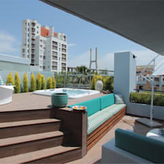 Serviços de Remodelações e Design de Interiores Piscinas modernas por Roof Moderno