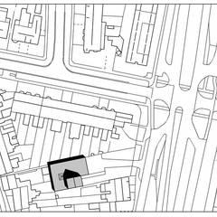Herbestemming loods tot kantoorpand, Maastricht:  Kantoor- & winkelruimten door Verheij Architecten BNA