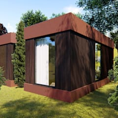 Small houses by Mira3D concept, Modern