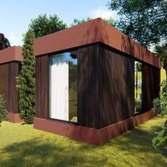 Casas pequeñas de estilo  por Mira3D concept