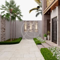 Front garden by Comelite Architecture, Structure and Interior Design , Modern