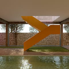Garden Pool by Laboratorio Mexicano de Arquitectura,