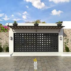 Los Arrayanes: Casas de estilo  por FA Arquitectos