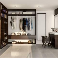 Punto 15 Arquitectura의  욕실, 러스틱 (Rustic)