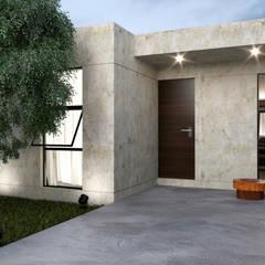 منازل صغيرة تنفيذ Punto 15 Arquitectura , ريفي
