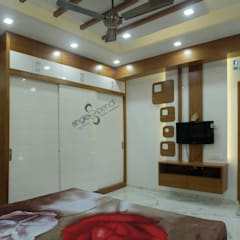 Dormitorios pequeños de estilo  por single pencil architects & interior designers