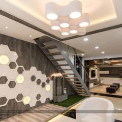 صالات عرض تنفيذ single pencil architects & interior designers
