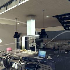 Kitchen by Durán y Arquitectos (Dua), Minimalist