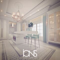 Luxury Design for Kitchen Interiors:  Kitchen units by IONS DESIGN