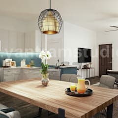 Kitchen units توسطYantram Architectural Design Studio Corporation, کلاسیک
