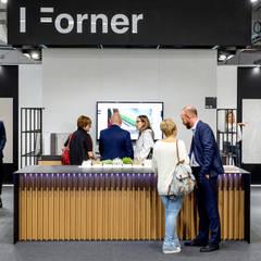 Stoisko wystawowe – Forner Warsaw Home 2018 | Warszawa: styl , w kategorii Centra wystawowe zaprojektowany przez H+ Architektura