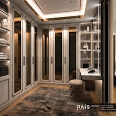Project : Perfect Place 4 – Ratchapruek:  ห้องแต่งตัว โดย PAI9 Interior Design Studio,