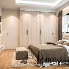Small bedroom by PAI9 Interior Design Studio, Classic