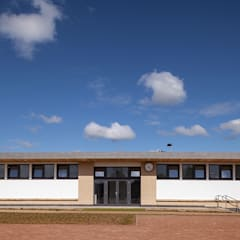 Sports Pavilion for School:  Passive house by Cayford Design