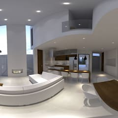 Casa RG: Cocinas equipadas de estilo  por RAGO Arquitectos