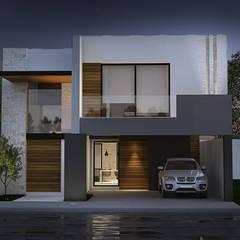 Casa RG: Casas unifamiliares de estilo  por RAGO Arquitectos