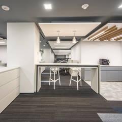 Glencore México: Oficinas y tiendas de estilo  por TALLER GRADO 13 ARQUITECTURA