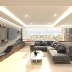 Ruang Keluarga Modern Oleh PLARIST Modern Marmer