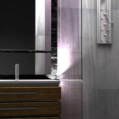 DISEÑO DE BAÑO: Baños de estilo  por PLARIST, Industrial Mármol