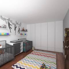 RECAMARA INFANTIL: Recámaras para bebés de estilo  por PLARIST