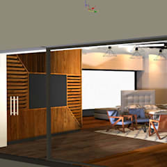 REMODELACION DE LOCAL COMERCIAL PARA TIENDA DE COLCHONES: Estudios y oficinas de estilo  por PLARIST