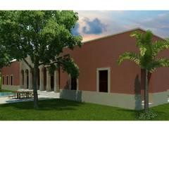 منزل ريفي تنفيذ FIME Construcciones y Urbanizaciones SA de CV,