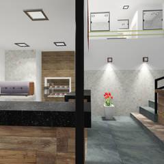 مطاعم تنفيذ Padilha Arquitetura e Urbanismo,