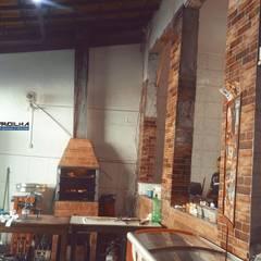 Projeto do Restaurante Espaço Sabor: Espaços gastronômicos  por Padilha Arquitetura e Urbanismo,